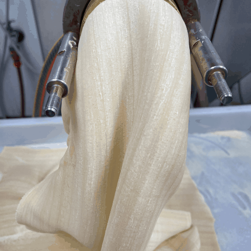 Home made organic pasta sheets